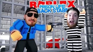 ROBLOX Adventure - PRISON LIFE - ROPO BETRAYS SHARKY!!