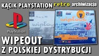 Wipeout na PS1 z polskiej dystrybucji | Retro archiwizacja - odcinek 200