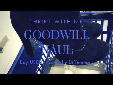 SHOP with ME  ||  GOODWILL THRIFT HAUL  ||  NINE WEST  ||  LANDS END
