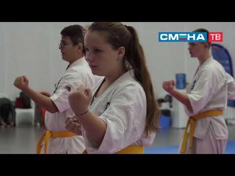 Практические занятия по карате, киокушинкай и кикбоксингу в ВДЦ «Смена»