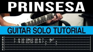 Prinsesa - 6Cyclemind Guitar Solo Tutorial (WITH TAB)