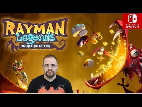 Rayman Legends Nintendo Switch! Spawn Wave Plays!