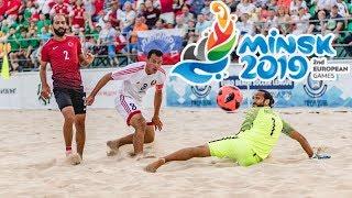 Сборная Беларуси - победитель домашнего этапа Евролиги по пляжному футболу