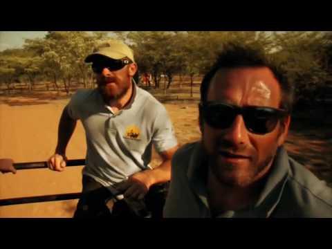 Jason Fox and Aldo Kane in South Africa preventing wildlife crime