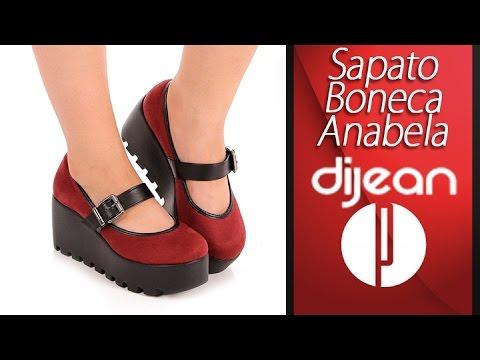9977f63bd Sapato Boneca Anabela Feminino Dijean - 6030449717 - YouTube