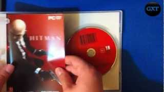 Hitman Ultimate Complete Collection+Absolution 2000-2012 Video Game Unboxing-Overview HD 720P