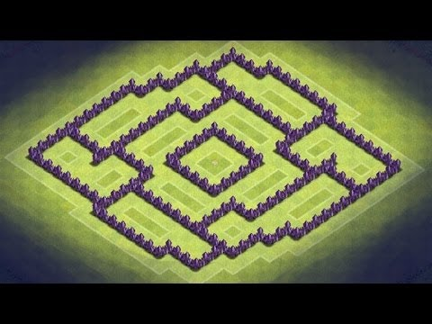Download coc th7 trophy clan wars base design without barbarian king