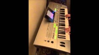 Yamaha TYROS - Organ Bank Demo - Bright Draw