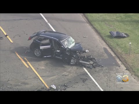 2 Vehicles Collide On Route 206 - YouTube