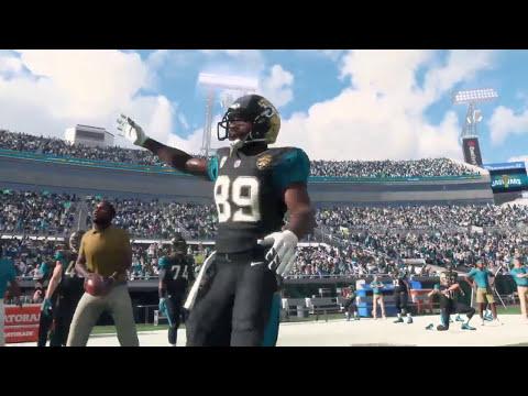 Madden 18 - Los Angeles Rams vs Jacksonville Jaguars - Full Game Simulation Nation