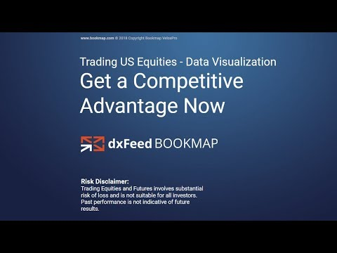 2018-05-24 Advantage Trading US Equities in Bookmap with dxFeed