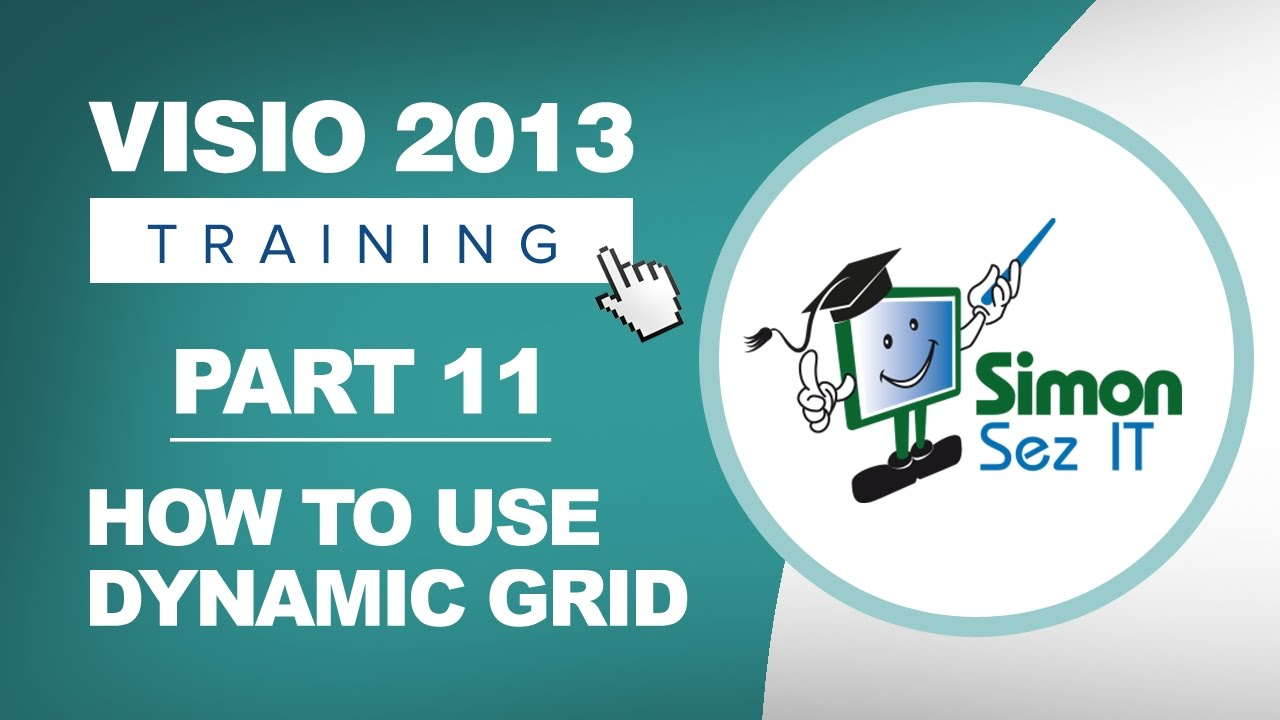 Visio 2013 for beginners part 11 how to align shapes in visio visio 2013 for beginners part 11 how to align shapes in visio using dynamic grid malvernweather Choice Image