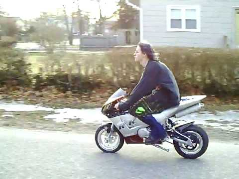 X18 rr super pocket bike riding power wheelies youtube publicscrutiny Images
