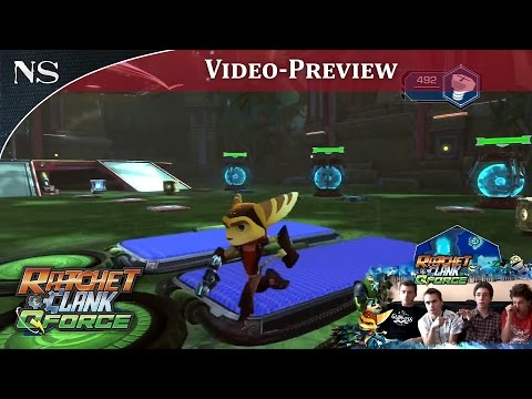 Ratchet & Clank : Q-Force | Vidéo-Preview PS3 (NAYSHOW)
