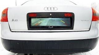Обзор и установка камеры заднего вида из GearBest на AUDI A6 C5