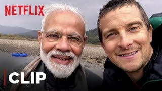 PM Narendra Modi's Adventure | Man VS Wild | Netflix