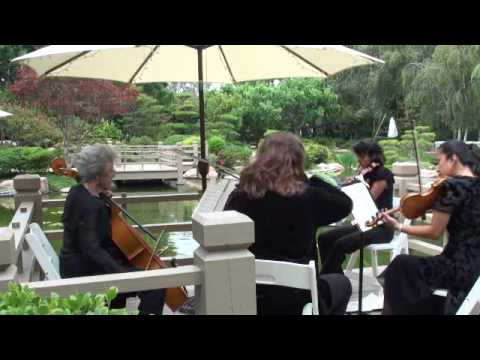 Southern Cities String Quartet Performing Unforgettable by Irving Gordon/arr. Sam Warsager