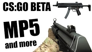 CS:GO BETA - MP5 and more | CCCS #5 addition