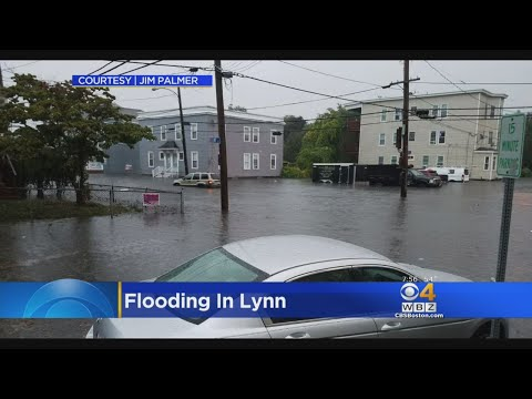 Flash Flooding Leads To Water Rescues In Lynn
