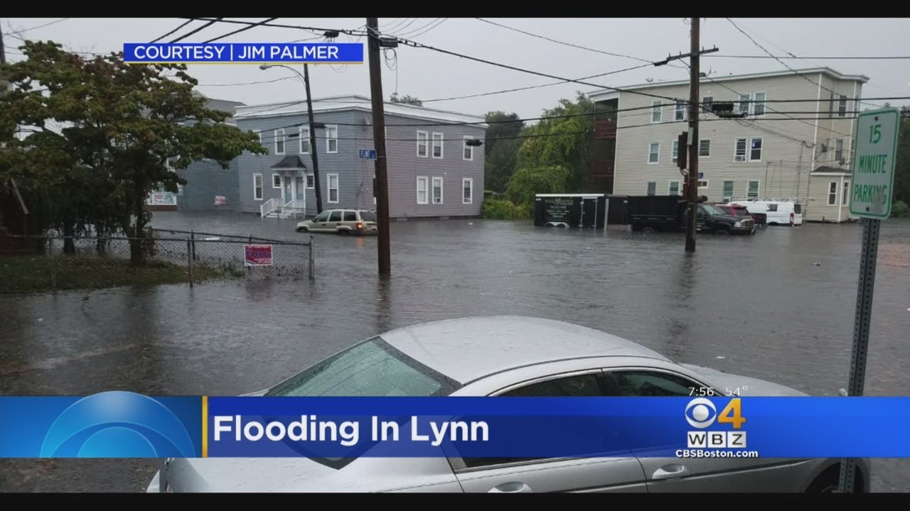 Flash Flooding Leads To Water Rescues In Lynn Youtube