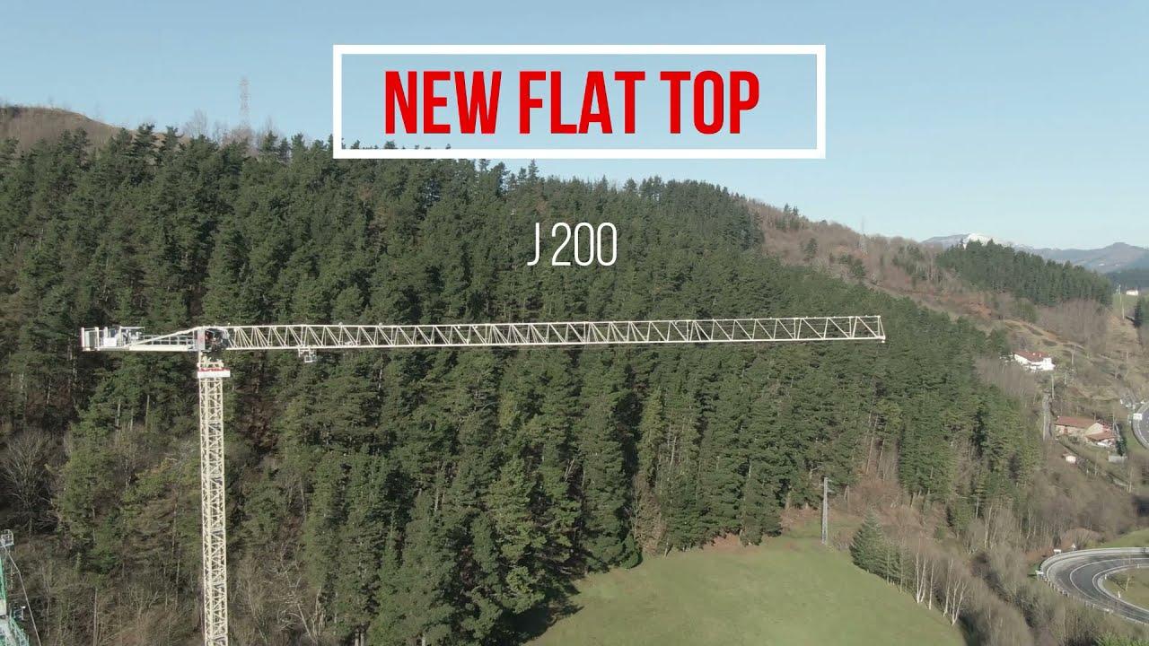 J200 Flat Top - JASO Tower Cranes