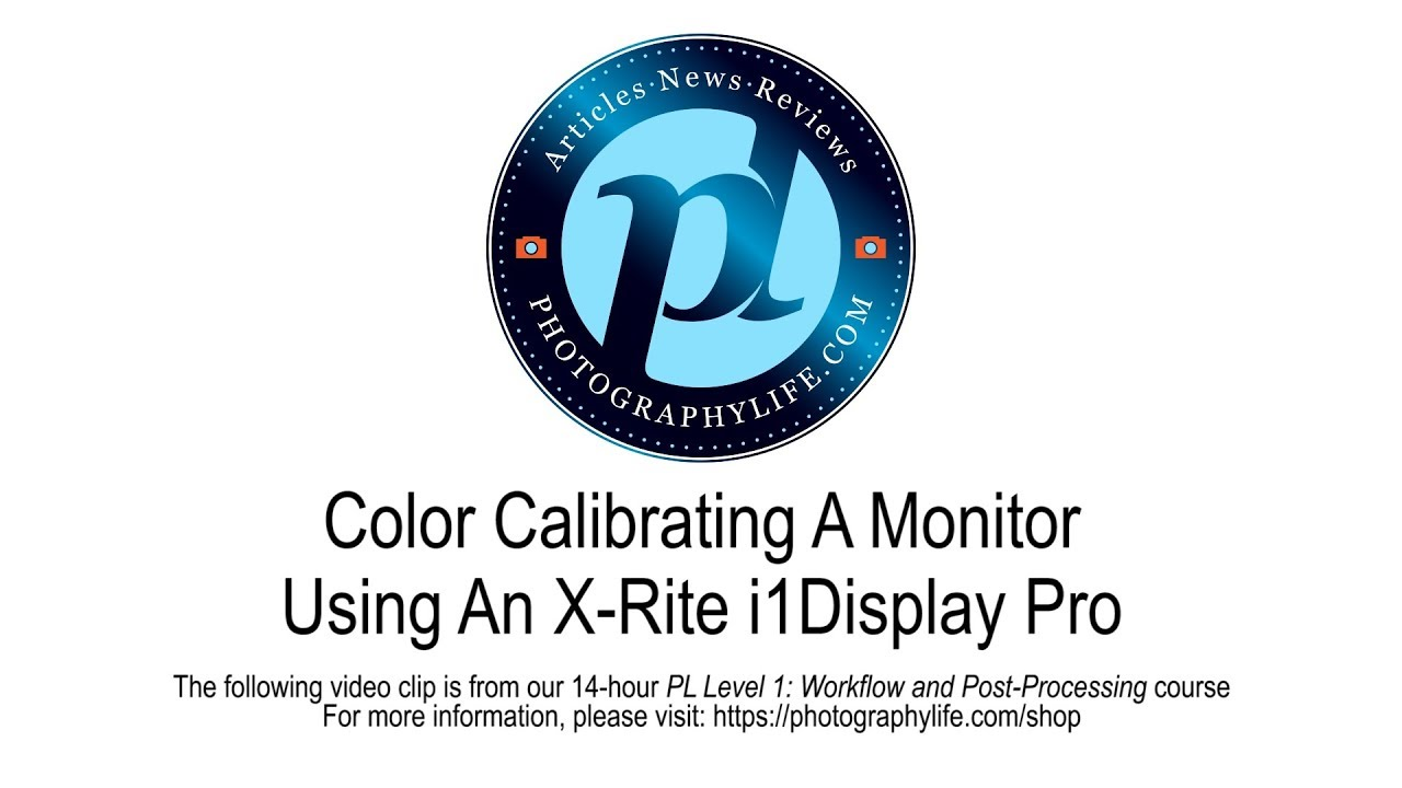How to Color Calibrate a Monitor with X-Rite i1 Display Pro