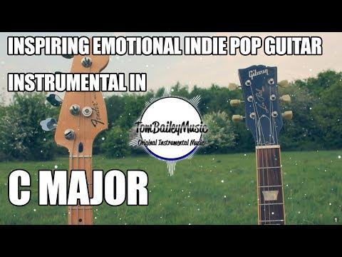 Inspiring Emotional Indie Pop Guitar Instrumental In C Major