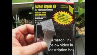 Lazy Man Screen Hole Repair &  2 Diy Mosquito Fan Trap Designs