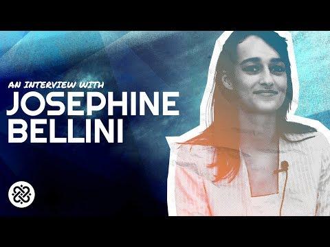 Crypto and Art Collide with Josephine Bellini - Voice of Blockchain 2018