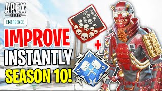 How To INSTANTLY IMPŔOVE In Season 10! Apex Legends Tips and Tricks Guide
