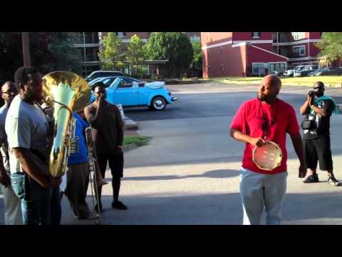 second line honoring clara luper: doughbelly