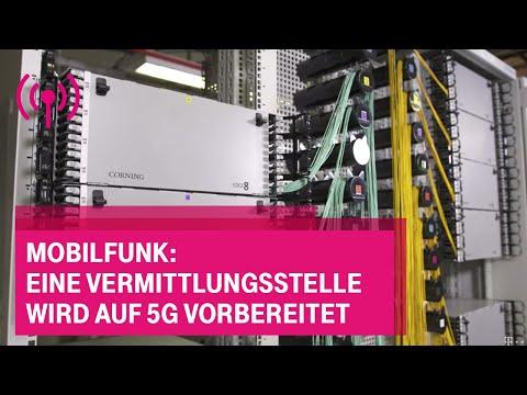 Social Media Post: Mobilfunk: Eine Vermittlungsstelle wird auf 5G vorbereitet