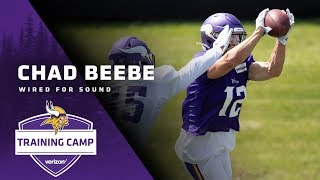 Wired For Sound: WR Chad Beebe | Minnesota Vikings