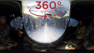 Видео 360! Поездка В Кемь На Вездеходе Шерп! Едем На Озера!