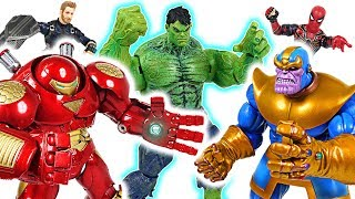 Thanos controls the Hulk! Marvel Avengers Infinity War Hulkbuster and Iron Man! Go! - DuDuPopTOY