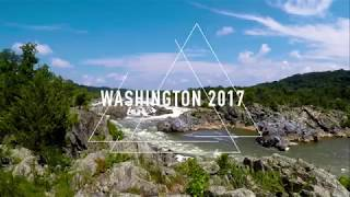 Washington DC / Great Falls National Park Travel Video 2017
