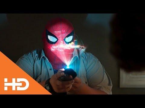 Питер Прикрепляет Жучок на Шокера ★ Человек-Паук: Возвращение Домой (2017)
