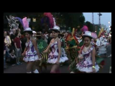 BLOQUE 'KANTUTA' at Mayor Thames Parade 2012.wmv