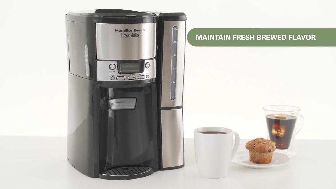 hamilton beach brewstation 12 cup dispensing coffeemaker manual