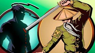 как победить Отшельника в Shadow Fight 2 (Бой с тенью)