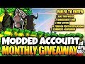 GTA 5 MODDED ACCOUNT GIVEAWAY!