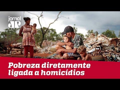 Extrema Pobreza Está Diretamente Ligada Aos Homicídios, Aponta Estudo | Jornal Jovem Pan