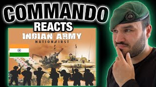 Indian Army Nation First (British Royal Marine Reacts)