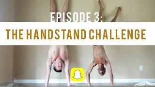160-Sec 4K SNAP STORY - Handstand Challenge VLOG