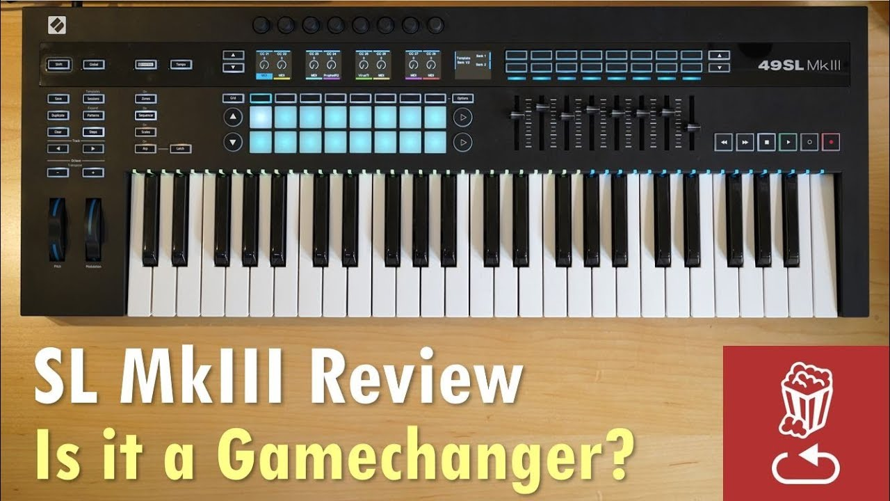 Novation SL MkIII Review: Is it a gamechanging controller? (49SL MK3/61SL  MK3)