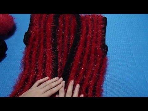 видео: Вязание спицами. Вязанный жилет. Авторская работа.