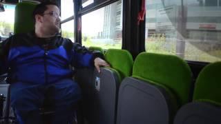 RTC - Prendre l'autobus en fauteuil roulant