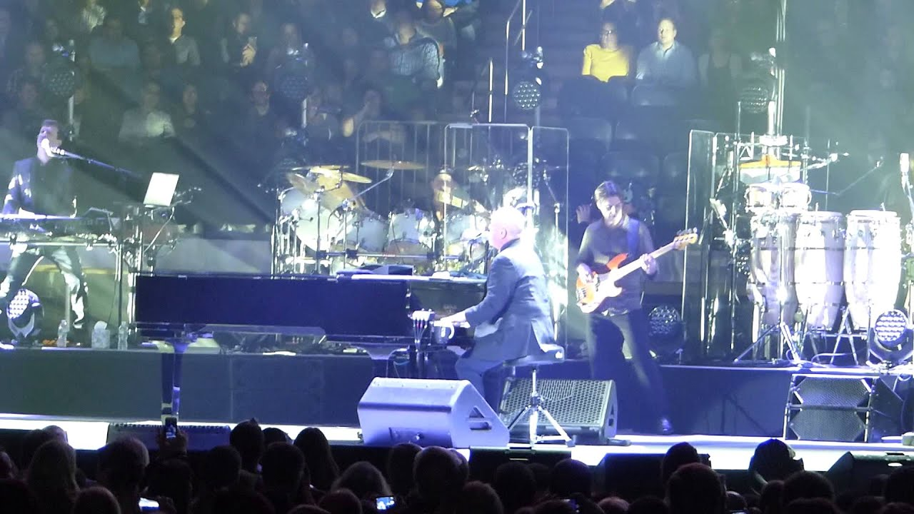 Movin Out Billy Joel Madison Square Garden Feb 3 2014 YouTube
