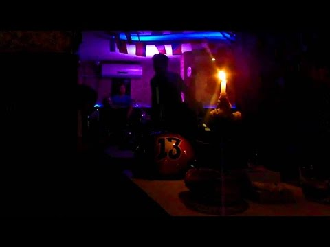 Live music in a bar in Kathmandu, Nepal (H20 Cafe and Pub)
