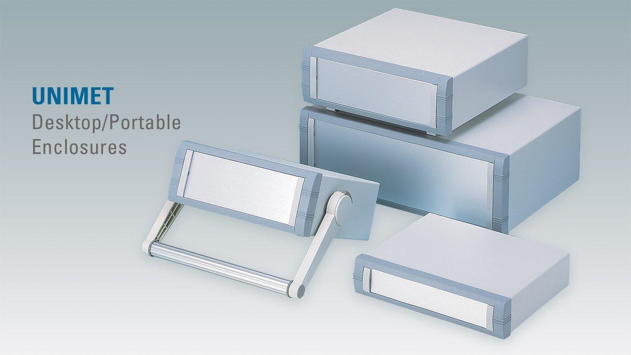 Portable Electronic Enclosures : Unimet aluminum instrument enclosures youtube